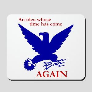 New Deal Eagle Mousepad