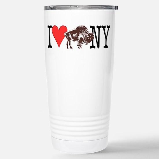 Love Buffalo Stainless Steel Travel Mug