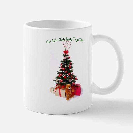 Our 1st Christmas Together Mug