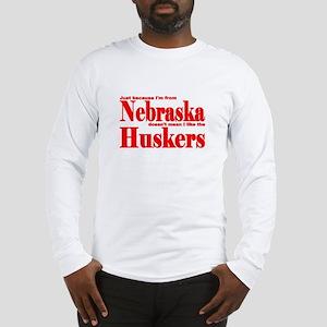 Nebraska Huskers Long Sleeve T-Shirt