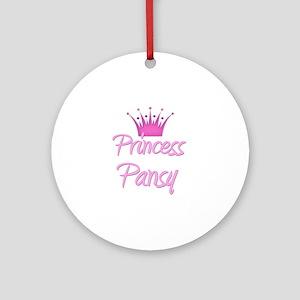 Princess Pansy Ornament (Round)