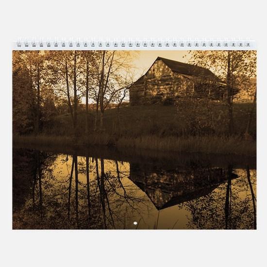 Antique Country Wall Calendar