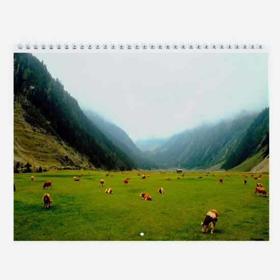 High Country Cattle Wall Calendar