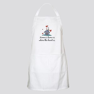 Nonnie's Home is Where the Heart Is BBQ Apron
