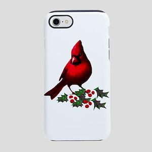 Christmas Cardinal iPhone 8/7 Tough Case
