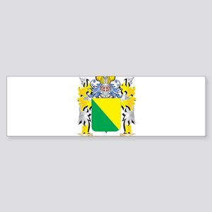 London Coat of Arms - Family Crest Bumper Sticker