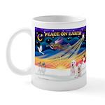 XmasSunrise/2 Westies Mug