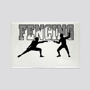 Fencing Rectangle Magnet