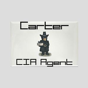 Carter - CIA Agent Rectangle Magnet