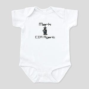 Mark - CIA Agent Infant Bodysuit