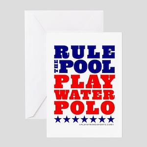 Play Water Polo Birthday Card
