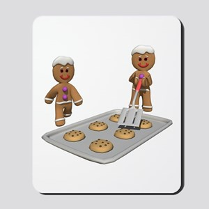 GINGERBREAD MEN DEFENSE Mousepad