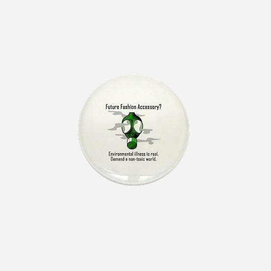 Non-toxic world Mini Button