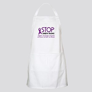 Stop Domestic Violence 2 BBQ Apron