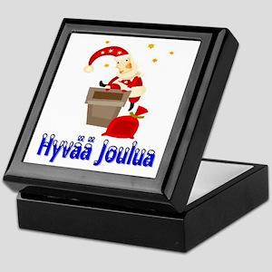 Hyvää Joulua Keepsake Box