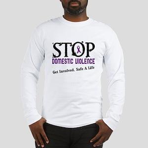 Stop Domestic Violence 2 Long Sleeve T-Shirt