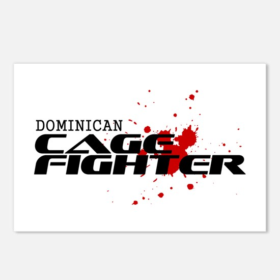 Dominican Cage Fighter Postcards (Package of 8)