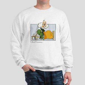 Cthulhu Dreaming Sweatshirt