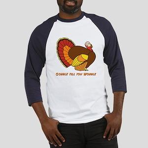 Thanksgiving Gobble Baseball Jersey