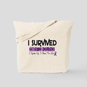 Domestic Violence Survivor 2 Tote Bag