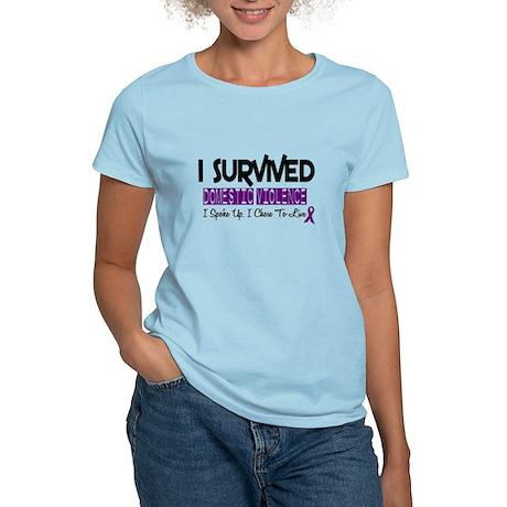 Domestic Violence Survivor 2 Women's Light T-Shirt