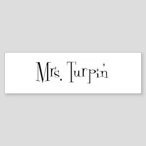 Mrs. Turpin Bumper Sticker