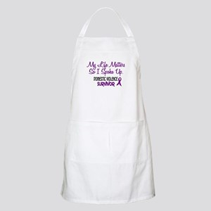 Domestic Violence Survivor 3 BBQ Apron