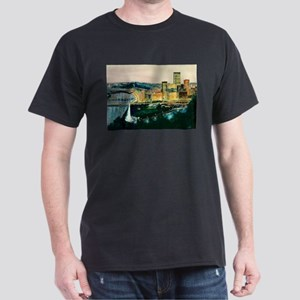 Pittsburgh at Dusk Dark T-Shirt