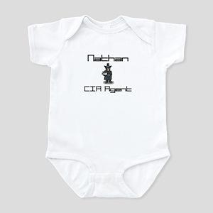 Nathan - CIA Agent Infant Bodysuit
