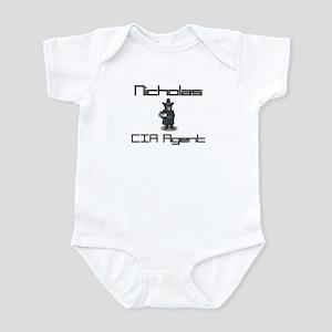 Nicholas - CIA Agent Infant Bodysuit