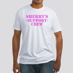 Sheryl Support Crew Fitted T-Shirt