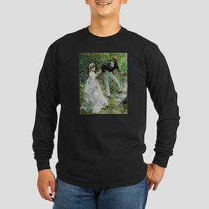 Promenade Long Sleeve Dark T-Shirt