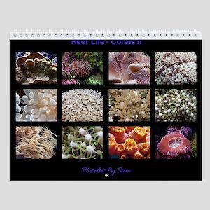 Corals II Wall Calendar