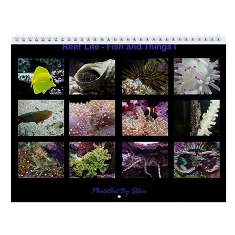 fish and things i wall calendar by allenphotoart