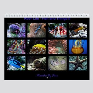 Fish and Things II Wall Calendar
