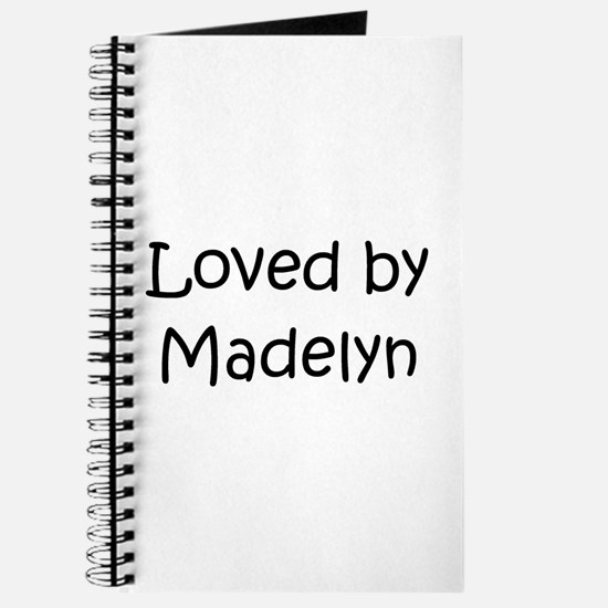 Cute Madelyn Journal