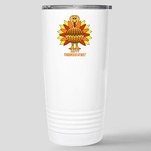 Thanksgiving Turkey Stainless Steel Travel Mug