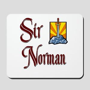 Sir Norman Mousepad