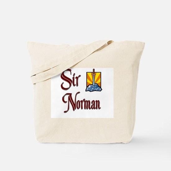 Sir Norman Tote Bag