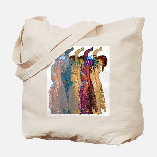 Rainbow Troupe Tote Bag