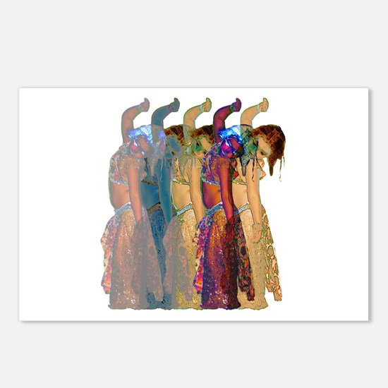 Rainbow Troupe Postcards (Package of 8)