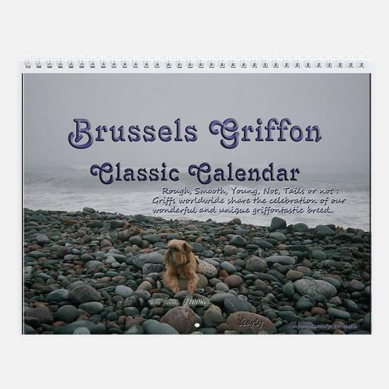 Griffontastic Brussels Griffon Classic Calendar