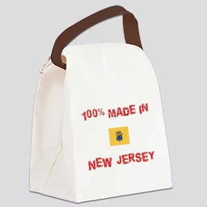 100 Percent Made In New Jersey Canvas Lunch Bag