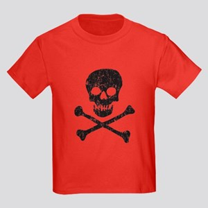 Skull & Crossbones Kids Dark T-Shirt