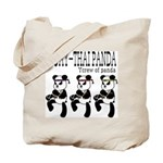 MUAYTHAI?PANDA Tote Bag