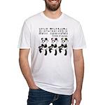 MUAYTHAI?PANDA Fitted T-Shirt