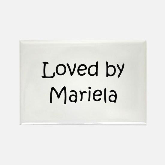 Cool Mariela Rectangle Magnet