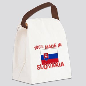 100 Percent Made In Slovakia Canvas Lunch Bag
