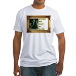 Awesome CRISWELL WAS RIGHT Form Fitted WhitT-Shirt