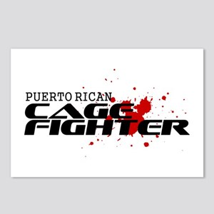Puerto Rican Cage Fighter Postcards (Package of 8)